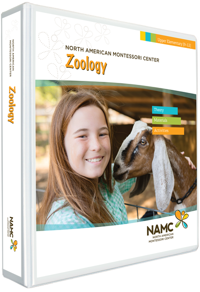 NAMC's Upper Elementary Montessori Zoology Manual