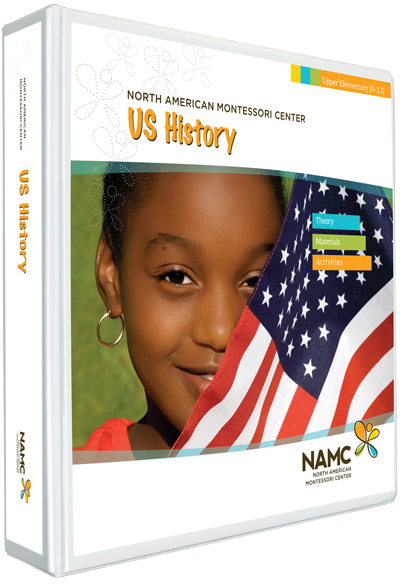 NAMC's Upper Elementary Montessori US History Manual