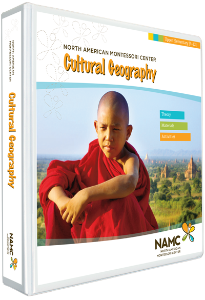 NAMC's Lower Elementary Montessori Cultural Geography Manual