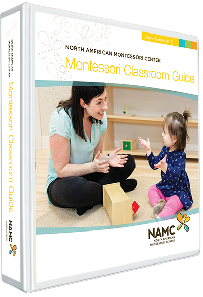 NAMC Montessori Teacher Training Infant Toddler 0-3 Classroom Guide Manual