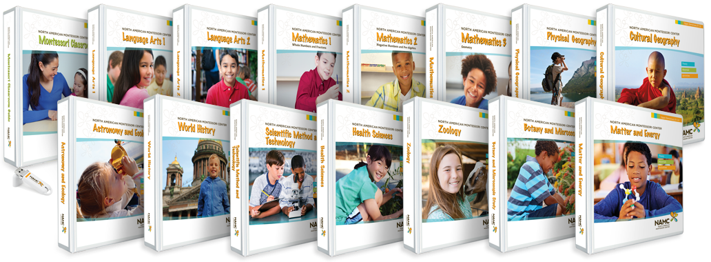 NAMC Upper Elementary Montessori Curriculum Full Bundle