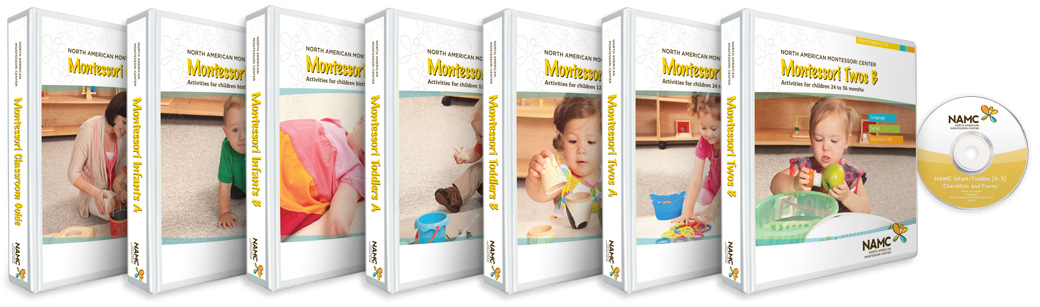 NAMC's Infant/Toddler 0-3 Montessori Curriculum Bundle