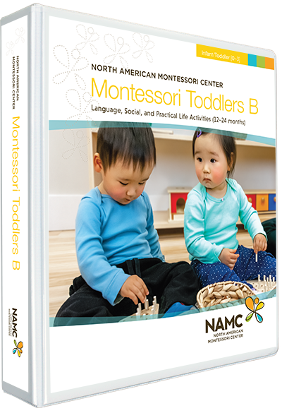 NAMC Montessori Teacher Training Infant Toddler 0-3 Toddlers B Manual