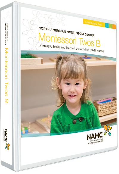 NAMC Montessori Teacher Training Infant Toddler 0-3 Twos B Manual