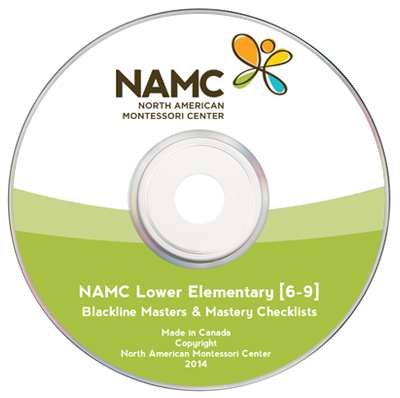 NAMC's Lower Elementary (6-9) Curriculum Support Materials CD