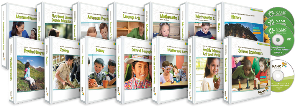 NAMC Lower Elementary 6-9 Curriculum Bundle